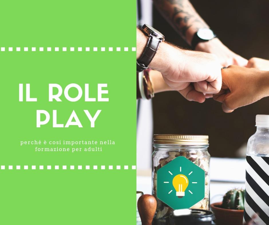 Questa è una foto con il role play per la formazione formatori Scuola Italiana Formatori SIF